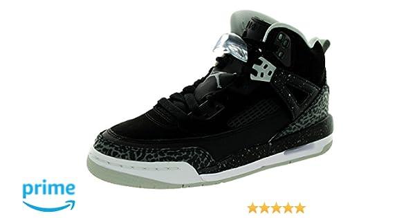 best loved 0deb7 17ae1 Amazon.com | Jordan Spizike Big Kids Style, Black/Cool Grey/Mist White, 6 |  Basketball