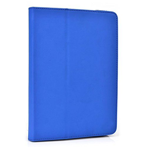 Cooper Cases (TM) Infinite Elite Sony Xperia Tablet Z Wi-Fi (SGP311, SGP312) Tablet Folio Case in Blue (Universal Fit, Built-in Viewing Stand, Elastic Strap Cover Lock)