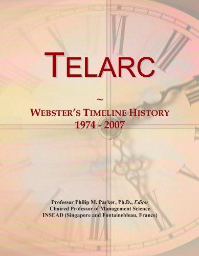 Telarc: Webster's Timeline History, 1974 - 2007