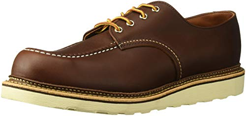 Red Wing Heritage Men's Classic Oxford,Mahogany,10 D (Red Wing Casual Boots)