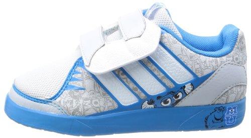 Adidas Performance Monster Jungen Turnschuhe - Grau/Blau - UK GRÖßEN 10-2.5 - EU 34