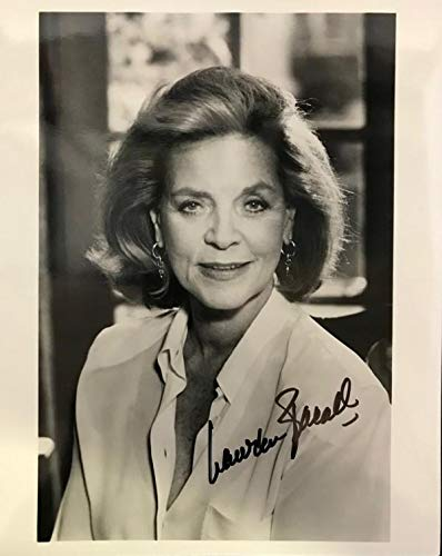 Laren Bacall Autographed Black & White 8x10 Photo