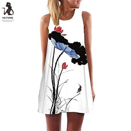 Vintage Dress,Women Summer Boh