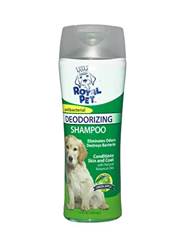 Oatmeal 12 Ounce Bottle (Four Pack. Green Apple Deodorizing Dog Shampoo and Vanilla Oatmeal Conditioning Dog shampoo. 4 12 oz bottles)