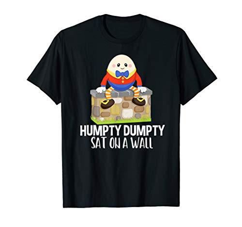 Humpty Dumpty Rhymes - Humpty Dumpty Kids Nursery Rhyme T-Shirt
