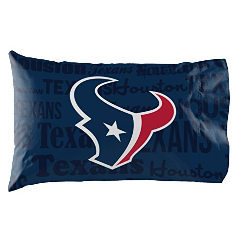 - Houston Texans - Set of 2 Pillowcases - NFL Football Bedroom Accessories