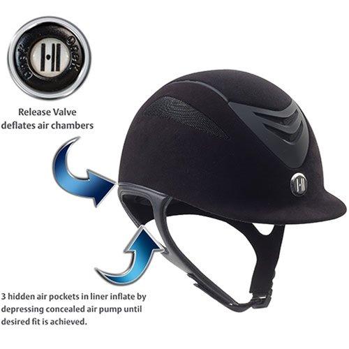 K.ONE One K Defender AIR Suede Helmet Medium (Helmet Suede)