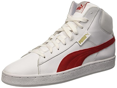 Barbados Sneaker Puma 1948 Cherry L Bianco Rosso Mid zC1qCwp