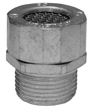 Appleton CRN50 Ordinary Location Drain, CF Aluminum, 1/2