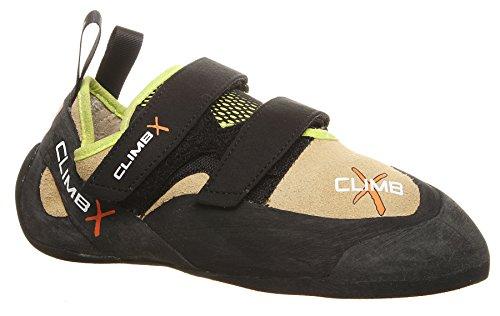 Climb X Rave Trainer Climbing Shoe with Free Sickle M-16 Climbing Brush (Men
