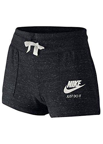 Nike Kids Gym Vintage Shorts Little Kids/Big Kids (M, Black) (Athletic Vintage Shorts)