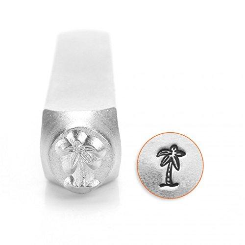 ImpressArt- 6mm, Palm Tree Metal Stamp ()