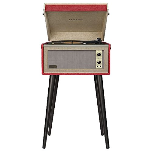 Crosley CR6233A-RE Dansette Bermuda Portable Turntable for sale  Delivered anywhere in USA