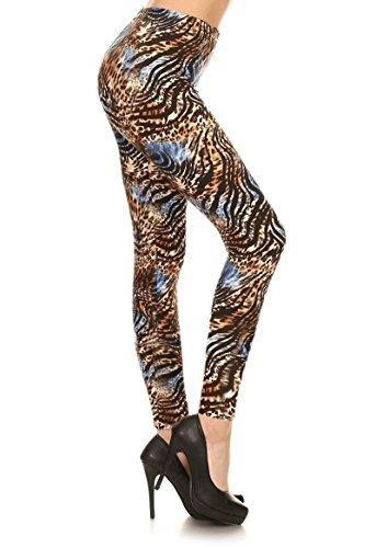 ファセットチャールズキージング群衆レギンスDepot Ultraソフト女性用人気Best印刷ファッションレギンスset2