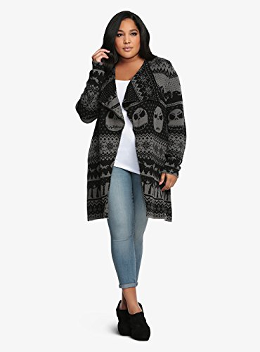 Nightmare Before Christmas Collection Drape Cardigan at Amazon ...