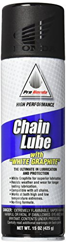 Honda Pro Chain Lube With White Graphite 15 oz. by Honda