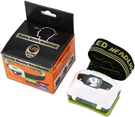 Color Yun LED Hoofdlamp Koplamp Lamp CE Camping Inductie Koplamp Batterij Aangedreven voor Camping Wandelen Vissen Outdoor
