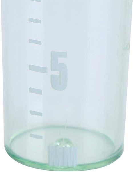 DDARK Rain Gauge Easy to Read for Garden Water Ground 35mm Measurement Tool