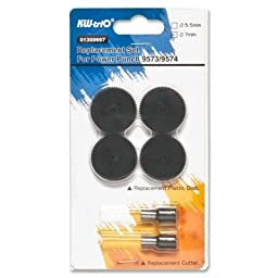 Business Source - 2-Hole Punch Replacement Kit w/Disks, Sold as 1 Set, BSN 55550