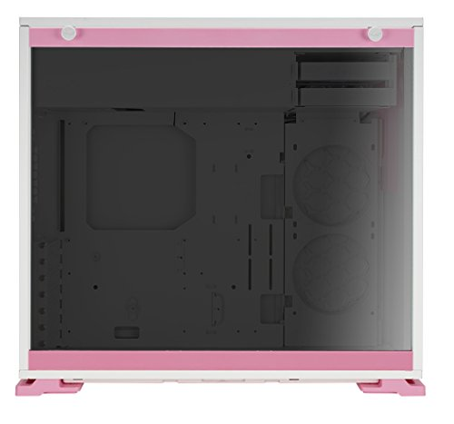 Inwin 101 Pink Atx Mid Tower Gaming Computer Case With