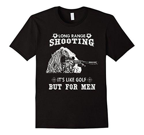 Mens Funny Sniper Gifts Shirt Long Range Shooting T Shirt...