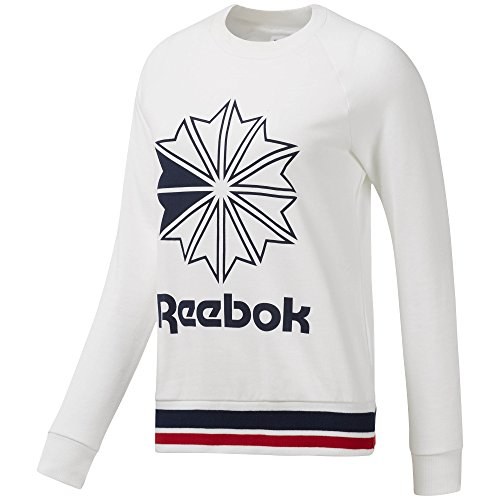 - Reebok Active Chill Crew, White, Medium