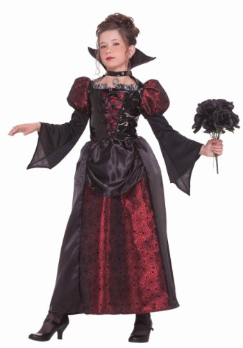 Girls Little Miss Spider Costumes (Forum Novelties Vampire Miss Dress, Child's Medium)