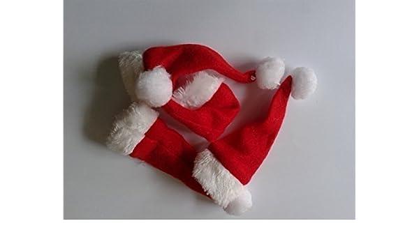 12 Gorro De Papá Noel Navidad Botella Bebida Toppers 3 Packs of 4: Amazon.es: Juguetes y juegos