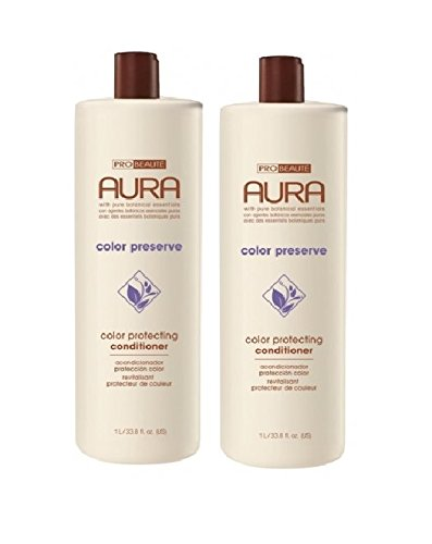 Probeaute Aura Color Preserve Color Protecting Conditioner 33.8 oz (2 pack) (Conditioner Colour Protecting)