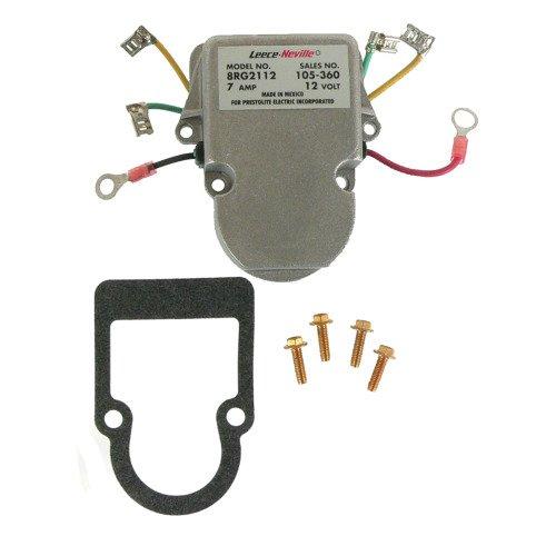 DB Electrical AMO6102 New Voltage Regulator for Motorola Prestolite Truck Alternator 8RG2029A, 1694438C1 105-292 PL105-360 F7HZ-10316-AA 230-16106 8RG2101A 8RG2112 105-360 44-9453 44-9463 M5-329A