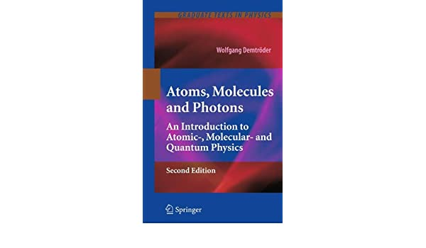 Atoms molecules and photons Light, particles and waves - Chem1