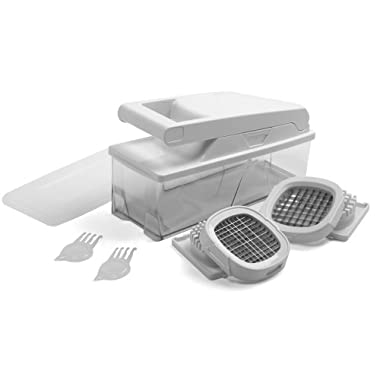 Norpro CHOPPER/DICER/SLICER Big Mouth 5 Interchangeable Stainless Steel Grids