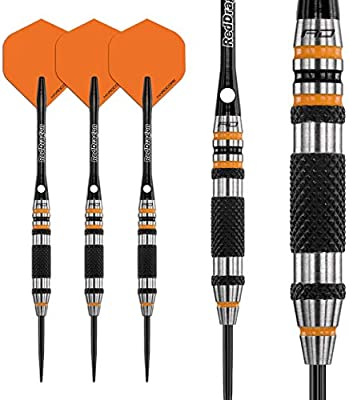 Red Dragon Amberjack 15 25g Tungsten Darts Set with Flights and Stems