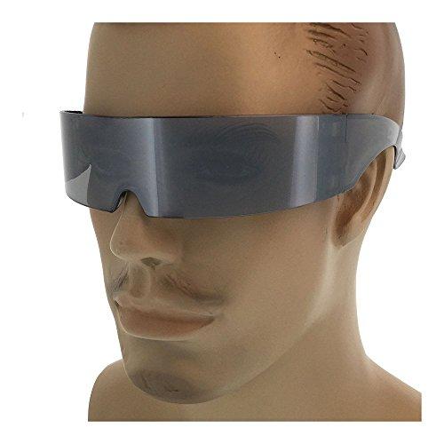 Kerkhoff Style Fashion Men's Mirrored Cyclops Super Futuristic - Futuristic Sale Sunglasses For