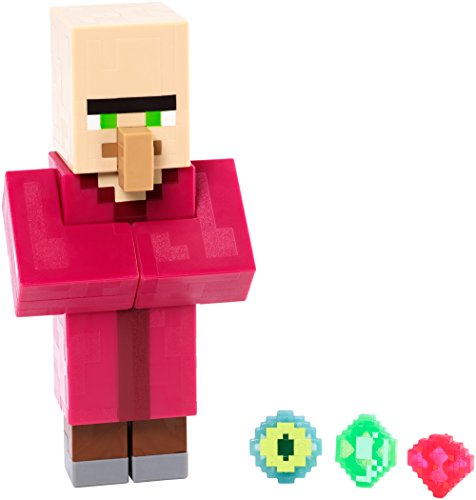 Minecraft Series 2 Villager with Emerald Action Figure