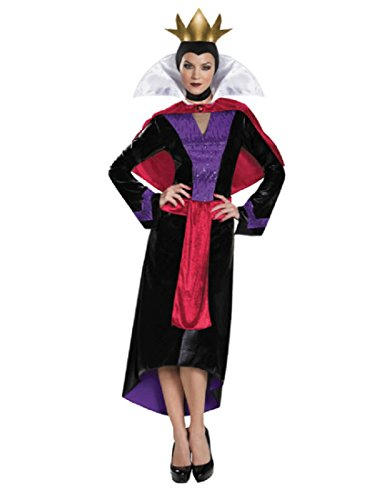 Disguise Women's Evil Queen Deluxe Adult Costume, Multi, Medium