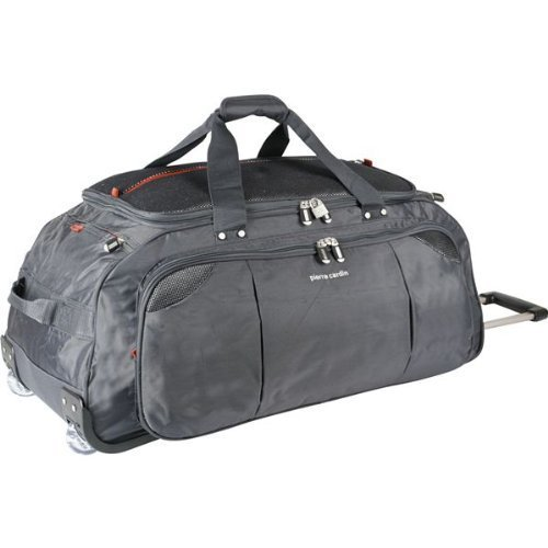 huge inventory reputable site innovative design Pierre Cardin Techno 30in Wheeled Holdall: Amazon.co.uk: Luggage