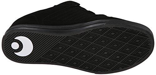 Zapatillas Osiris: Protocol BK/BK/WH Black