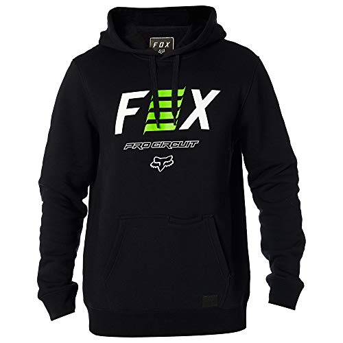 Fox Racing Pro Circuit Pullover Hoody-Black-2XL