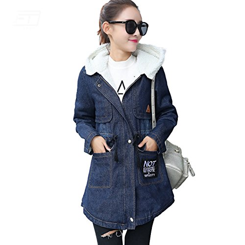 Amazon.com: PiterNace Warm;Cozy New Fashion Chaqueta Mujer Winter Long Paragraph Hooded Jacket Women Cotton Plus Size 5XL Womens Jackets Coat: Clothing