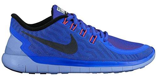 Nike Wmns Nike Free 5.0 Flash - Zapatillas de running Mujer Azul (Rcr Blue / Blk-Hypr Orng-Chlk Bl)