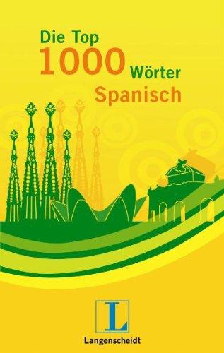 Langenscheidt Die Top 1000 Wörter Spanisch