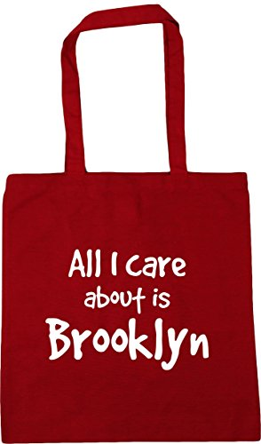 I care 10 x38cm Brooklyn about Gym Tote All 42cm Bag litres Red Shopping is Classic Beach HippoWarehouse BqE5KHwy