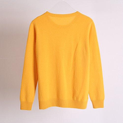 Ursfur Ursfur maglione maglione Cashmere Cashmere Giallo Di Giallo Di Ursfur 7rqf7
