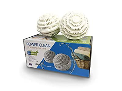 Eco Hi-Ball for Washing Machine - Laundry Balls for Washer - Eco Friendly, Chemical Free Alternative to Laundry Detergent