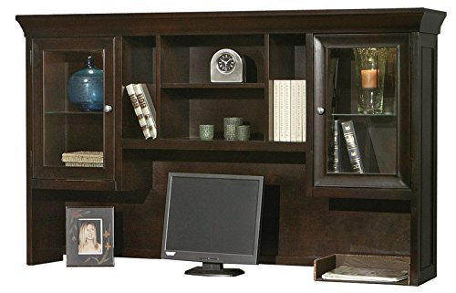 kathy ireland Home by Martin Fulton Executive Hutch - Fully Assembled by Martin Furniture