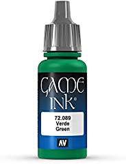 Vallejo Game Color Green Paint, 17ml