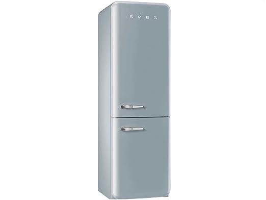 Retro Kühlschrank Smeg Oder Gorenje : Smeg kühl gefrierkombination fab32rxn1 polarsilber rechtsanschlag a