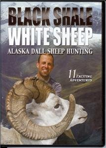 BLACK SHALE, WHITE SHEEP DVD Alaska Dall Sheep Hunting