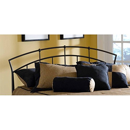 Hillsdale Furniture Vancouver Headboard with Frame, Full/Queen, Antique Brown ()